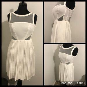 Cocktail dress -white